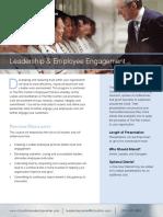 Leadership Employee Engagement