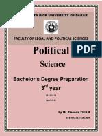Fascicule Political-Science I3