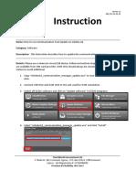 How to Run Communication Tool Update on EGlobe G2 QM_CW_SO_G2_08