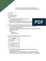 SOAL Evaluasi PBO-01 Kelas A