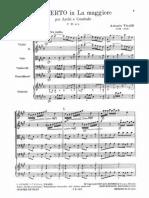 Concerto RV 158 in La Maggiore