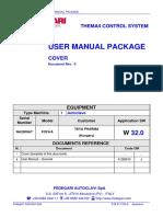 Fedegari user manual