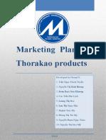 Marketing plan for Thorakao