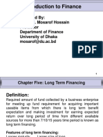 Chapter - 5 Long Term Financing