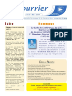 Le Courrier du CTC N°00 MARS 2019