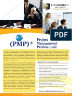 Project Management Professional (PMP) Course - Cambridge Education UAE.pdf