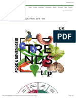 Food and Beverage Trends 2019 - UK