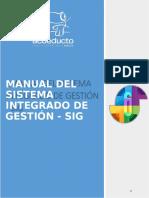 Manual Sistema Integrado Gestion