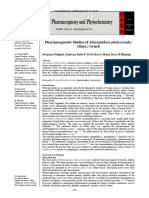 Pharmacognostic Studies of Alternanthera philoxeroides