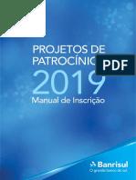Manual Usuario ProjetosPatrocinios 02052018