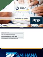 Treinamento SAP - Metodologia ACTIVATE