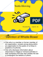 Whistleblowing (3)