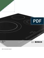 Bosch Hob Manual