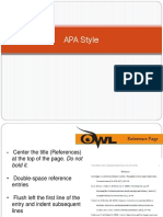 Apa Student Notes Web