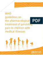 who child pain