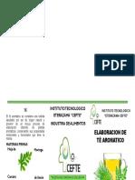Triptico de Té Aromatico (1)