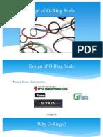 Design of O-rings for Sealing