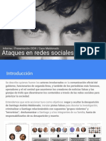 Denuncia de familia Maldonado sobre ataques y difamaciones en redes sociales