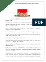 amul case analysis