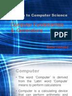 Lecture 1 - Computer Fundamentals & Generations