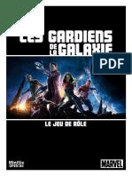 Les Gardiens de La Galaxie Jdr