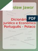 Dicionario Juridico e Economico PT PL