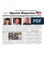 July 24 - 30, 2019  Sports Reporter