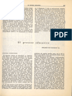 El proceso educativo (1954)