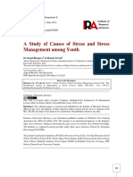 A Study of Causes of Stress and Stress Management