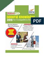 Rapid General Knowledge 2019 Disha Publications