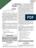 Oficializan convocatoria para elección de Mesa Directiva del Congreso