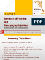 Chapter 4 - Planning & MBO