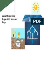 Masjid Mandiri Energi