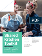 Shared Kitchen Toolkit_ a Practical Guide to Planning, Launching, And Managing a Shared-use Commercial Kitchen