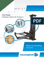 Hanningfield Uni Hoist Brochure