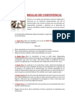 Reglas de Convivencia First Discoveries