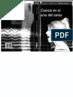 Ciencia en El Arte Del Canto. Soledad Sacheri