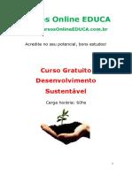 Curso Desenvolvimento Sustentavel