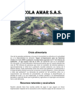Crisis Alimentaria Solución El Biofloc