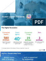 Alcatel-Lucent Rainbow - Customer Presentation -July2018