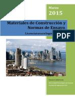 folleto de material de construcciones