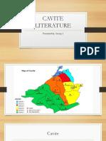 Cavite Literature