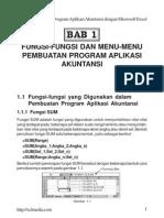 Program Aplikasi Akuntansi Dengan Microsoft Excel - Hal 1
