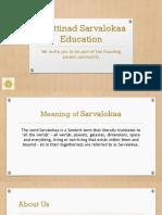 Chettinad Sarvalokaa Education