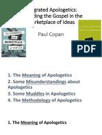 1 Integrated Apologetics Copan