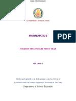 Maths Vol1 EM