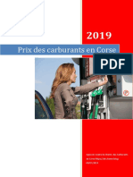 Rapport Cherté Des Carburants en Corse