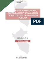 Modulo III Formulacion DE PROYECTOS AMBIENTALES