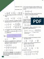 operaciones matematicas, Fracciones