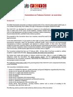 WHO FCTC Summary
